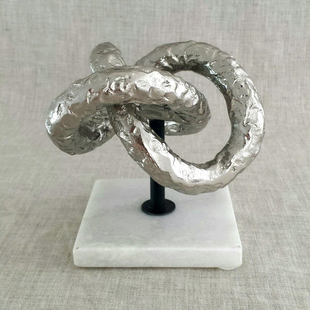 Modernist Knot Sculpture - Image 2 of 6