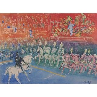 Jean Dufy Circus Lithograph