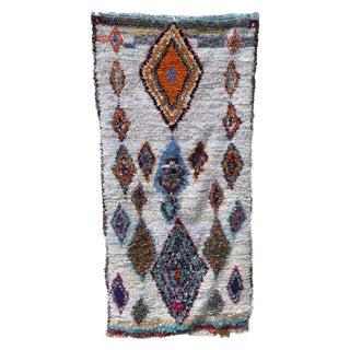 Moroccan Boucherouite Rug - 4′11″ × 9′6″