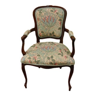 French Upholstered Accent Dining Chair