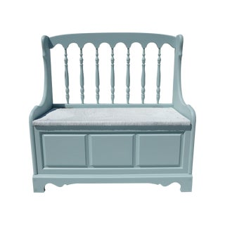 Coastal Living Style Storage Bench