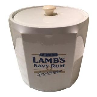 Vintage Vinyl Lambs Navy Rum Ice Bucket