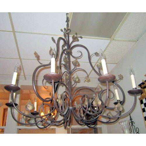 Pierre Picard 9 Light Chandelier - Image 2 of 4