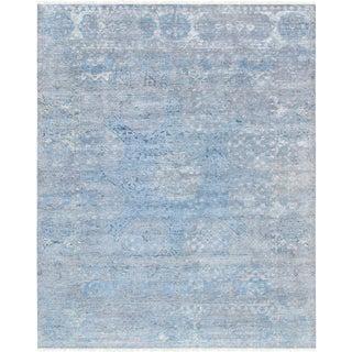 "Pasargad Transitional Silk & Wool Area Rug- 7'10"" X 9'10"""