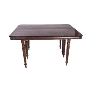 Antique British Campaign Dining Table