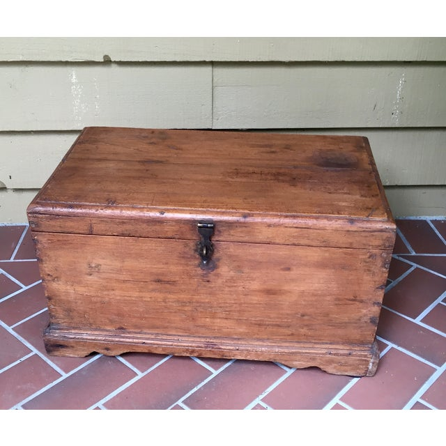 Antique French Trunk - Image 2 of 11