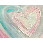 Image of Cotton Candy Heart Painting by Linnea Heide