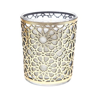 Cote Bougie Moroccan Figuier Candle with Leather Case