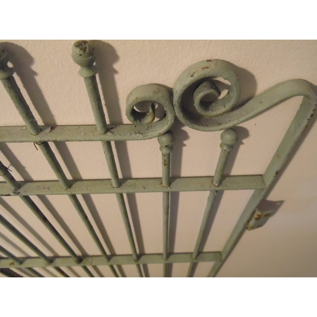 Petite Vintage French Garden Gate - Image 3 of 4
