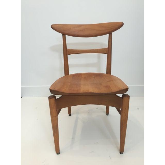 Mid-Century Modern Danish Birch Chair - Image 3 of 9