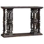 Image of Late 1970's Beautifully Carved Altar Table