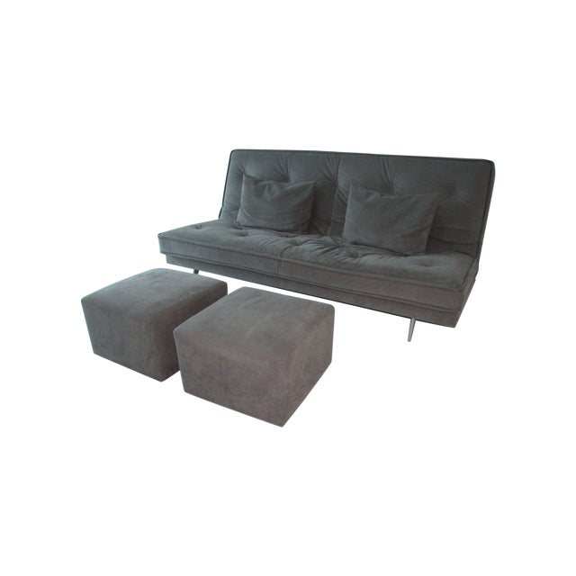 ligne roset nomade express sofa bed chairish. Black Bedroom Furniture Sets. Home Design Ideas