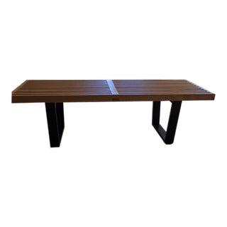 Nelson Inspired Platform Bench