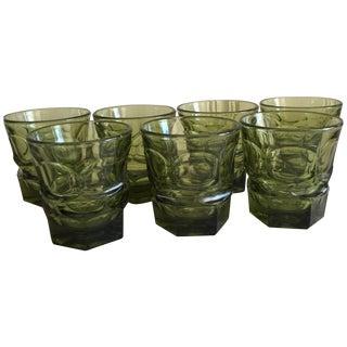 Midcentury Rocks Glasses - Set of 7