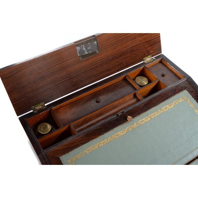 Antique Victorian Wooden Lap Desk - Image 3 of 9