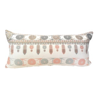 Suzani Motif Designer Pillow Cover