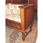 Image of Edwardian Mid-Century Telephone Sofa Bench