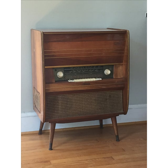 Mid Century Delmonico Stereo Cabinet Dry Bar Chairish