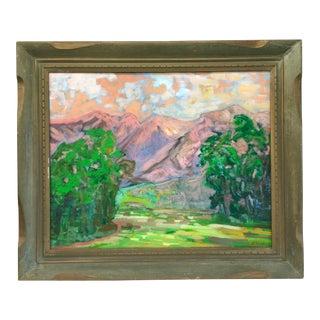 'Pepe' Guzman Vintage Palm Springs Landscape Painting