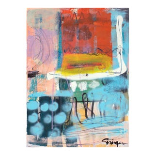 "Lesley Grainger ""Rethinking"" Original Abstract Painting"