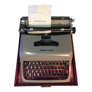 Olivetti Mid-Century Typewriter