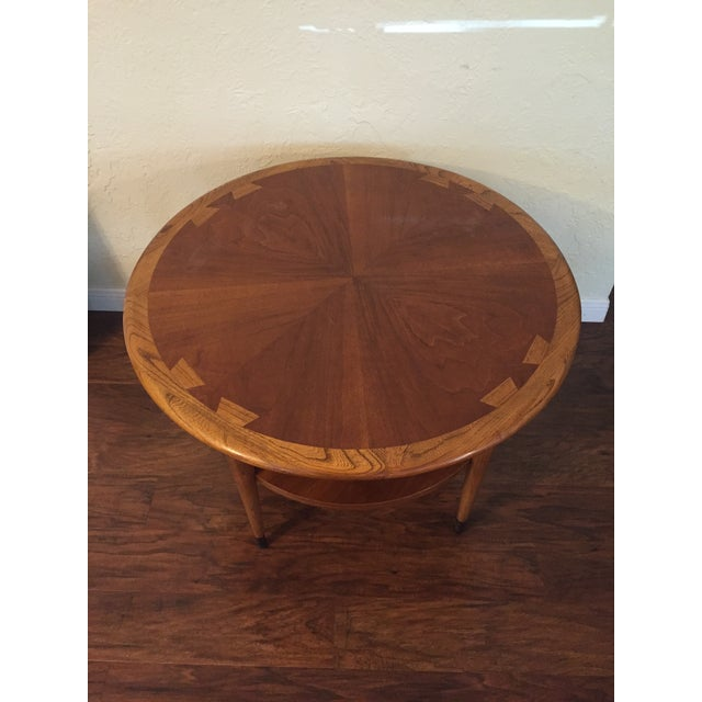 Image of Round Lane Dovetail Side Table