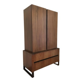 Lane Mid-Century Walnut Tallboy