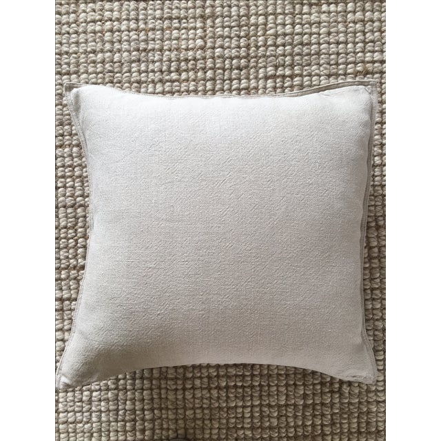 Restoration Hardware French Linen Throw Pillow Chairish
