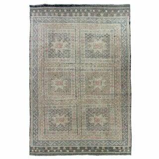 Turkish Kilim Cicim Flatweave - 5'11'' x 9'