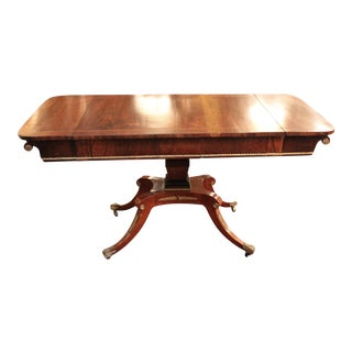 1820 English Regency Rosewood Sofa Table
