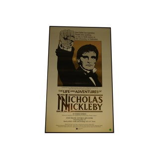 1984 Australian Theater Poster, Nicholas Nickleby