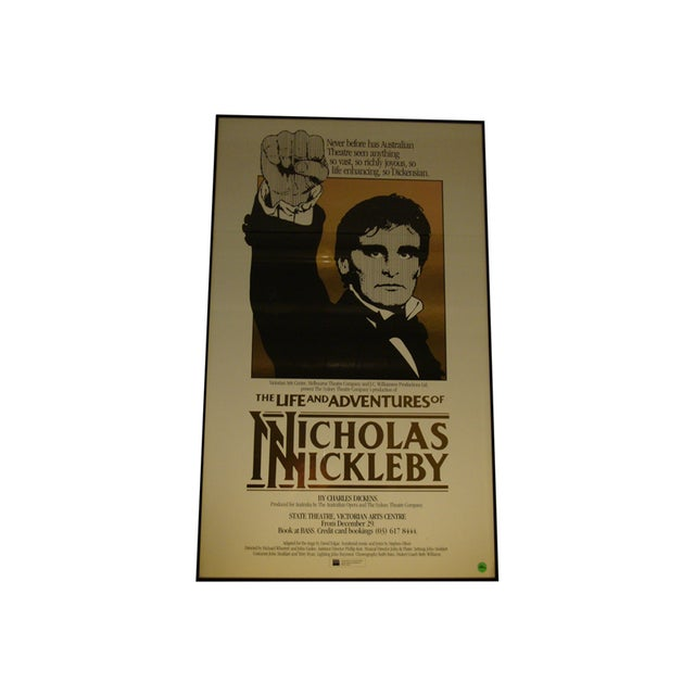 Image of 1984 Australian Theater Poster, Nicholas Nickleby