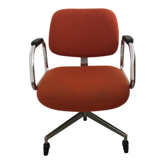 Mid-Century Modern Red Office Chair by Harter Furniture Company