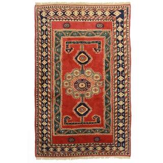 RugsinDallas Hand Knotted Wool Turkish Rug - 5′3″ × 8′4″