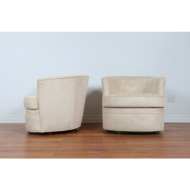 Swivel Vintage Beautiful Chairs - Pair - Image 8 of 10