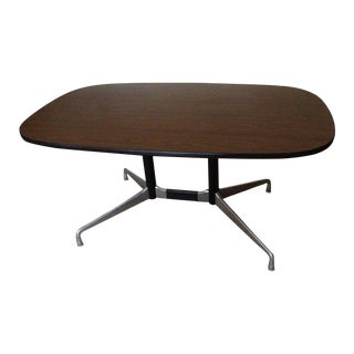 Eames Racetrack Style Desk by Herman Miller