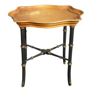 Barnard & Simonds Co. Wood Side Table