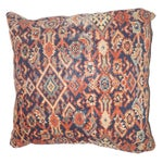 Image of Antique Persian Rug Fragment Pillow II