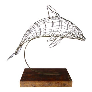 David Ascalon Modernist Dolphin Sculpture