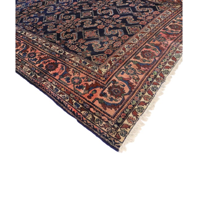 Antique Persian Traditional Modern Style Lilihan Rug - 3′10″ × 5′6″ - Image 2 of 6