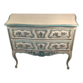 Bodart French Louis XV Style Painted Commode Chest