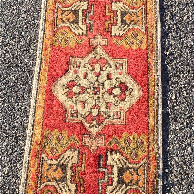 "Vintage Anatolian Persian Rug - 1'7"" X 3'4"" - Image 3 of 7"