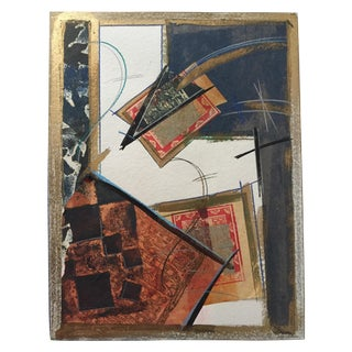 Holden Modernist Abstract Mixed Media Collage