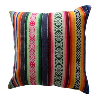 Vintage Manta Striped Pillow