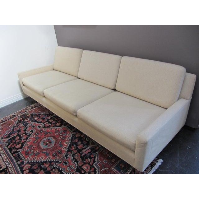 Mid-Century Modern Edward Wormley Style Sofa - Image 8 of 10