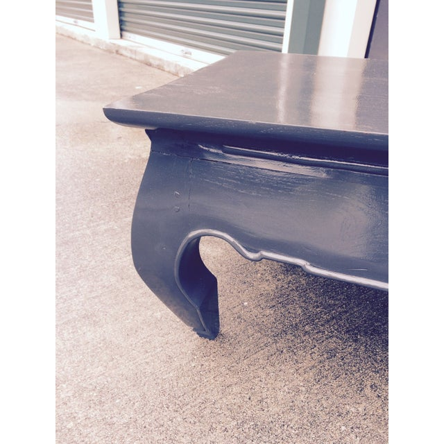 Image of Asian Lacquered Coffee Table