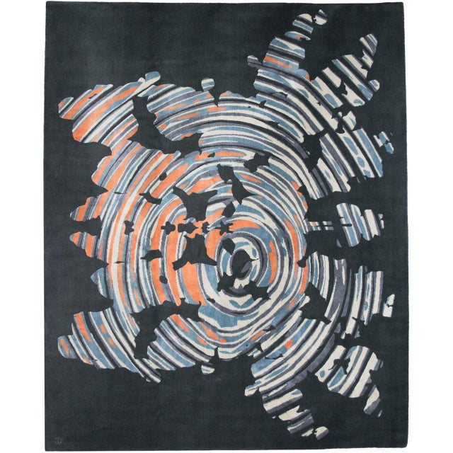 """""""Subconscious"""" Rug by Emma Gardner - Image 2 of 4"""