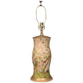 Decoupage Hurricane English Table Lamp
