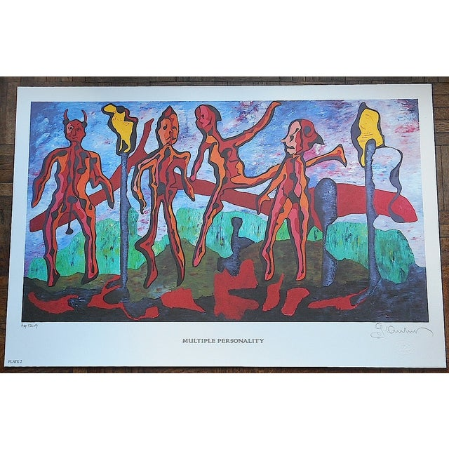 Signed Limited Edition Print by George Andreas - Image 2 of 5
