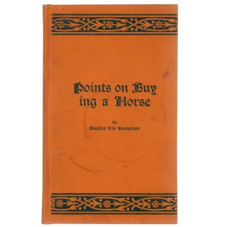 "1904 ""Points on Buying a Horse"""